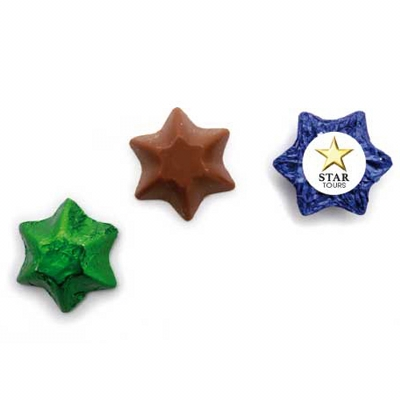 Chocolate Stars w Sticker (CPCH27_CHOC)