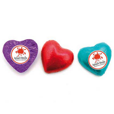 Chocolate Hearts w Sticker (CPCH25_CHOC)