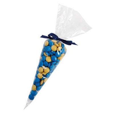 Confectionery Cones with Chocolate Gems (Corporate Colour) (CPCN35_SCG_CHOC)