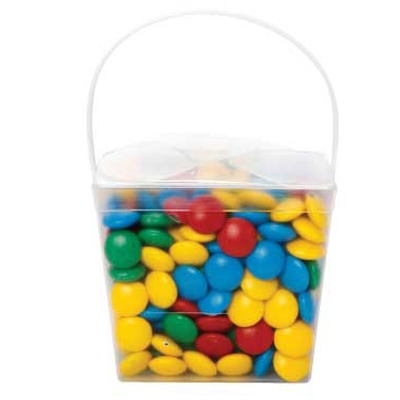 Clear Noodle Box with Mixed Chocolate Gems (CPCNP21_CG_CHOC)