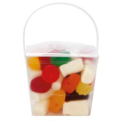 Clear Noodle Box with Mixed Lollies (CPCNP21_MXL_CHOC)