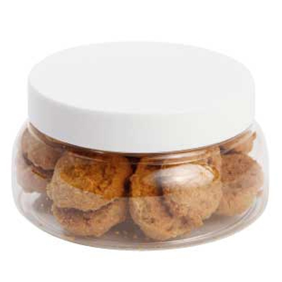 Large Plastic Jar with Mini Cookies (CPCNP40_MCO_CHOC)