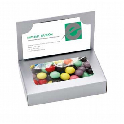 Business Card Box with Mixed Chocolate Balls (CPCNR45_CB_CHOC)