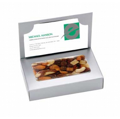 Business Card Box with Fruit n Nut Mix (CPCNR45_FNN_CHOC)
