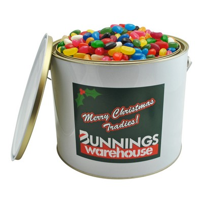 6 Ltr Paint Bucket with Mixed Jelly Beans (CPCNT53_JB_CHOC)
