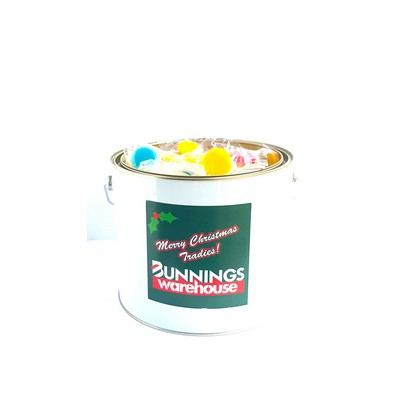 6 Ltr Paint Bucket with Flat Lollipops (CPCNT53_FLL_CHOC)
