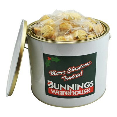 6 Ltr Paint Bucket with Assorted Mix of Mini Cookies (CPCNT53_MCO_CHOC)