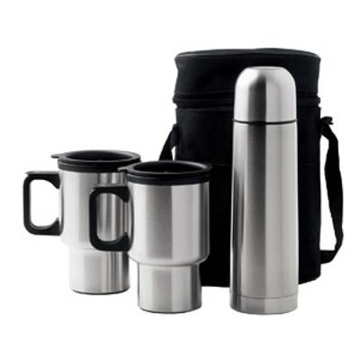 Car Mug/vacuum Flask Set (D355_IMG_DEC)