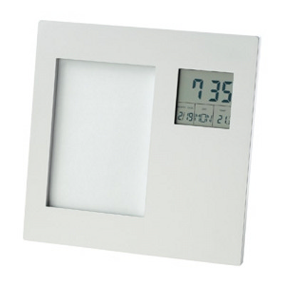 Photo Frame with Clock, Date, Temperature (D518_IMG_DEC)