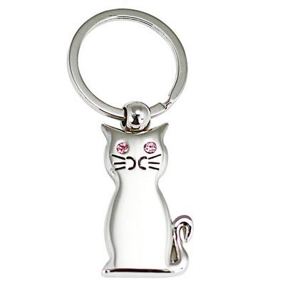 Cat Shape Keyring (JK045_JS)