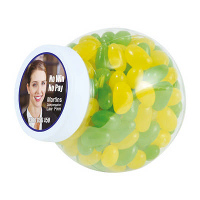 Corporate Colour Mini Jelly Beans in Container (LL3149_LLPRINT)
