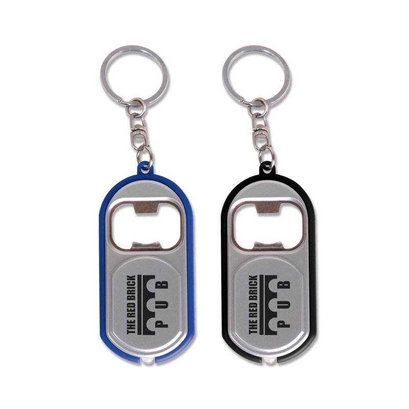 Bottle Opener Keytag / Light (LL4668_LLPRINT)