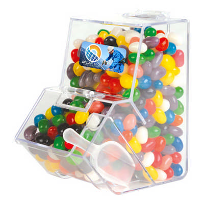 Assorted Colour Mini Jelly Beans in Dispenser (LL4871_LLPRINT)