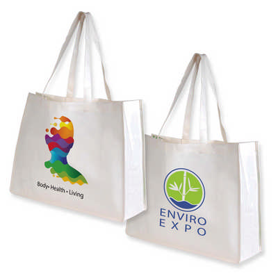 Giant Bamboo Carry Bag with Double Handles - 100 GSM (LL516_LLPRINT)
