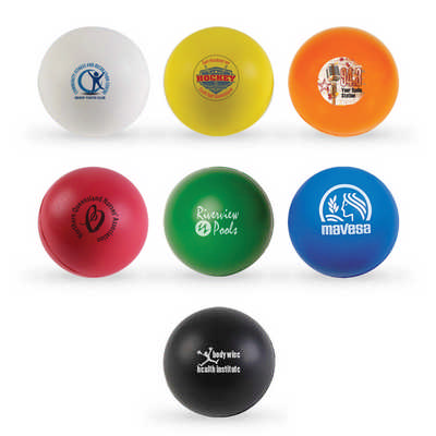 Round Ball Stress Reliever (LL600_LLPRINT)