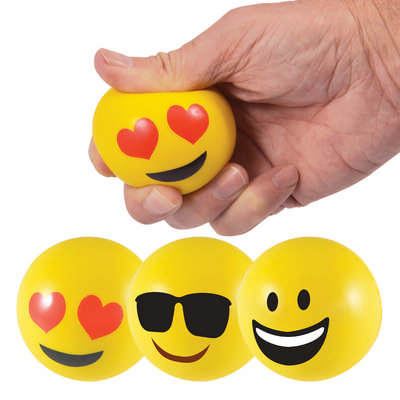 Emoji Stress Ball Reliever (LL610_LLPRINT)