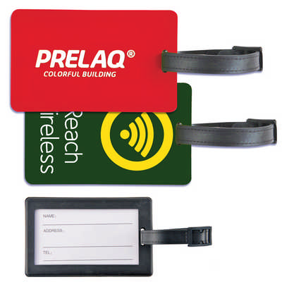 Rectangular PVC Luggage Tag (LN0010_LLPRINT)