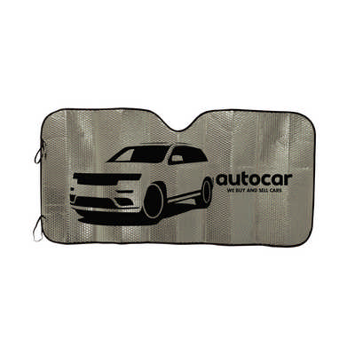 Concertina Metallic Car Sun Shade (LN9105_LLPRINT)