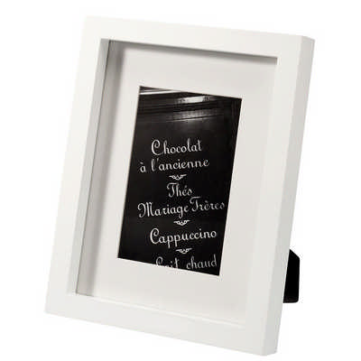 Seasons Greenport Photo Frame (SE1425WH_RNG_DEC)