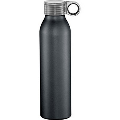 Grom Aluminum Sports Bottle - Black (4081BK_RNG_DEC)