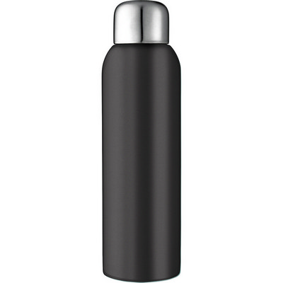 Guzzle Stainless Sports Bottle - Black (4082BK_RNG_DEC)