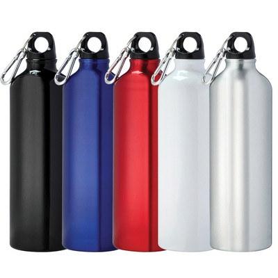 Pacific Aluminum Sports Bottle - Black (4083BK_RNG_DEC)