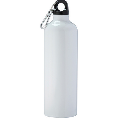 Pacific Aluminum Sports Bottle - White (4083WH_RNG_DEC)