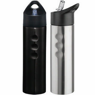 Performance Stainless Sports Bottle - Black (4185BK_RNG_DEC)