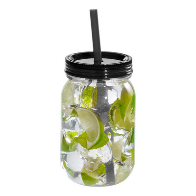 Binx Mason Jar in Black (4186BK_RNG_DEC)
