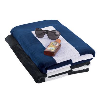 Beach Towel - Black (4245BK_RNG_DEC)