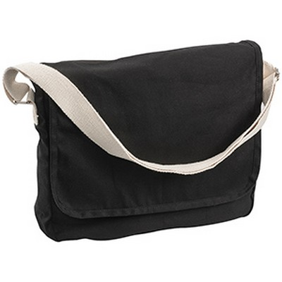 Canvas Shoulder Bag (5041BK_RG_DEC)