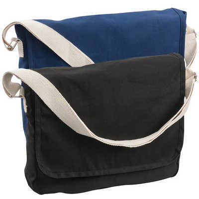 Canvas Shoulder Bag (5041BL_RNG_DEC)
