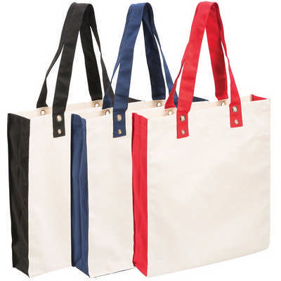 Cotton Canvas Tote (5046BK_RG_DEC)