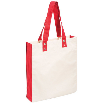 Cotton Canvas Tote (5046RD_RG_DEC)