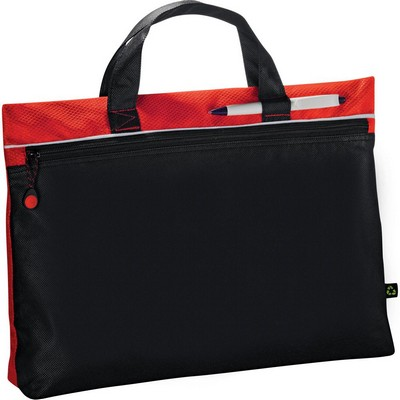 PolyPro Non-Woven Document Satchel (5057RD_RG_DEC)