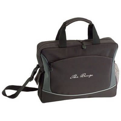 Conference Bag in Microfiber (5127BK_RNG_DEC)