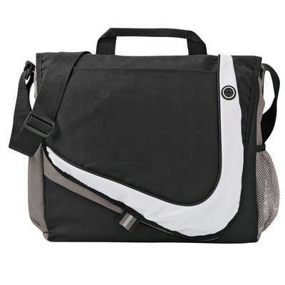 Racer Messenger Bag (5148BK_RNG_DEC)