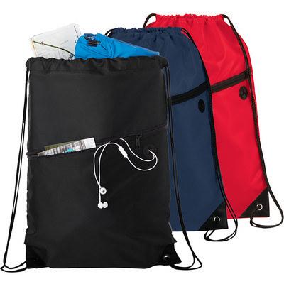 Robin Drawstring Bag - Black (5163BK_RNG_DEC)