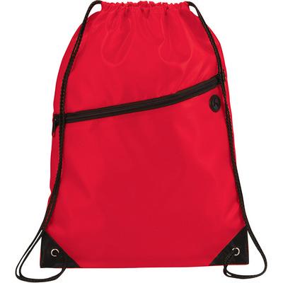 Robin Drawstring Bag - Red (5163RD_RNG_DEC)