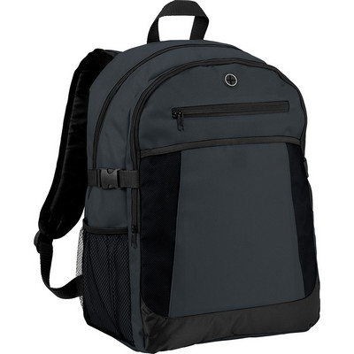 Expandable 15```` Computer Backpack (5172GY_RNG_DEC)