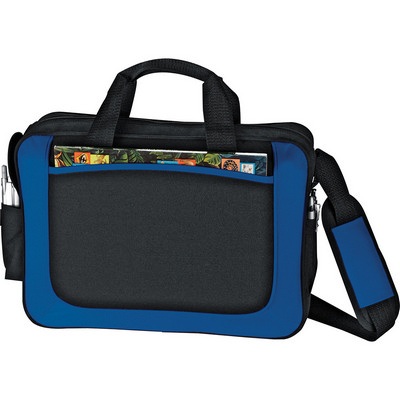 Dolphin Business Briefcase - Blue (5173BL_RNG_DEC)