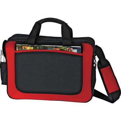 Dolphin Business Briefcase - Red (5173RD_RNG_DEC)
