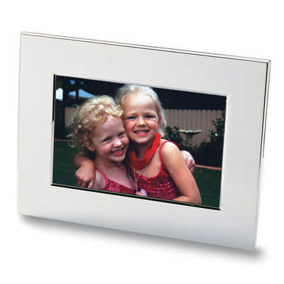 Nickel Plated Photo Frame (8811SL_RNG_DEC)