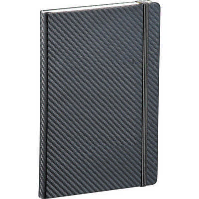 Ambassador Carbon Fibre 5 x 7 JournalBook (9135BK_RNG_DEC)