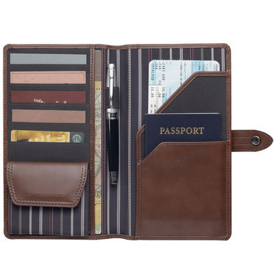 Cutter & Buck� Travel Wallet (CB1007BR_RNG_DEC)