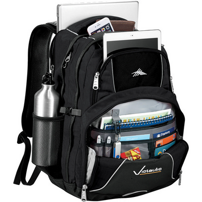 High Sierra Swerve 17 inch Computer Backpack (HS1001BK_RG_DEC)