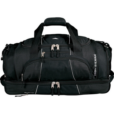 High Sierra� Colossus 26 inch Drop Bottom Duffel Bag (HS1005BK_RNG_DEC)