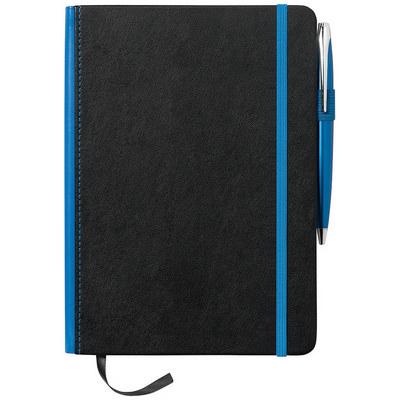 A5 Barranco JournalBook with Coloured Spine (JB1007BL_RG_DEC)