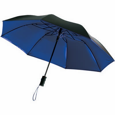 Auto Open 42 Folding Color Splash Umbrella (SB1005BL_RG_DEC)