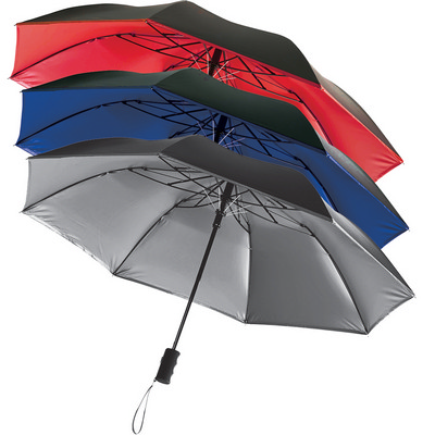 Auto Open 42 Folding Color Splash Umbrella (SB1005RD_RG_DEC)